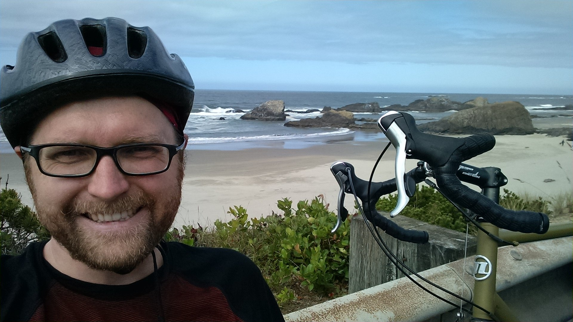 Selfie on the Southern Oregon Coast